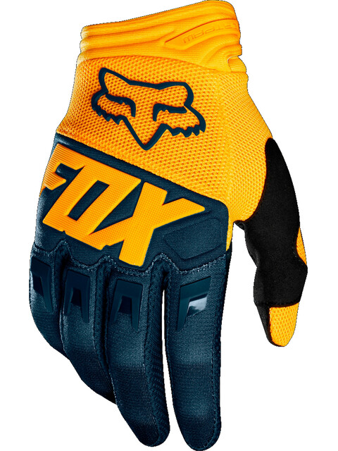Fox Dirtpaw Gloves Men navy/yellow